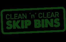 Clean N Clear Skip Bins Logo